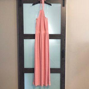 GAP halter maxi dress